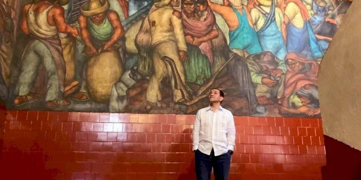#PolíticaConfidencial Arturo Herrera se muestra feliz pese a indicadores