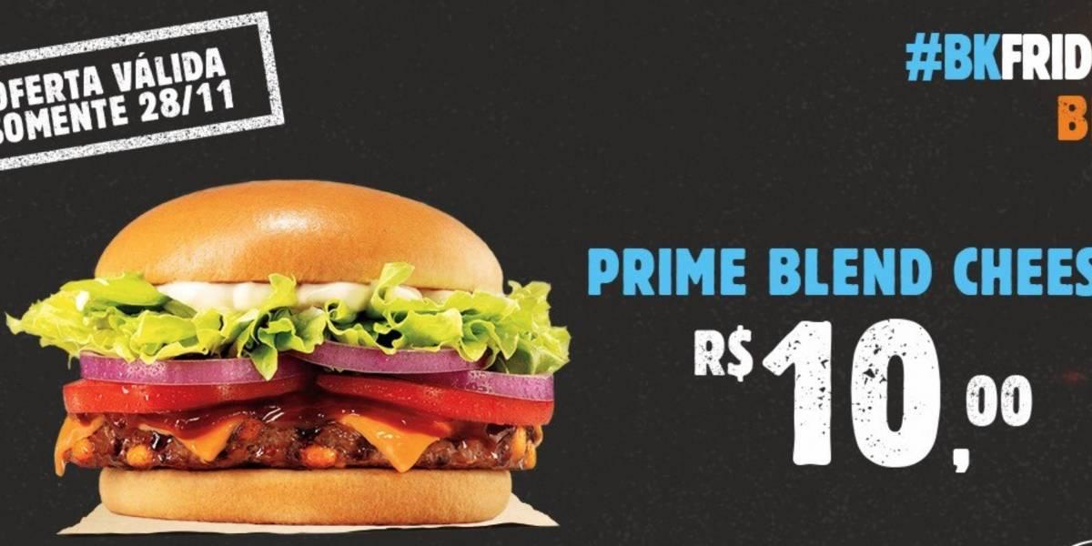 Black Friday: Rede Burger King prepara oferta especial para esta quinta-feira (28)