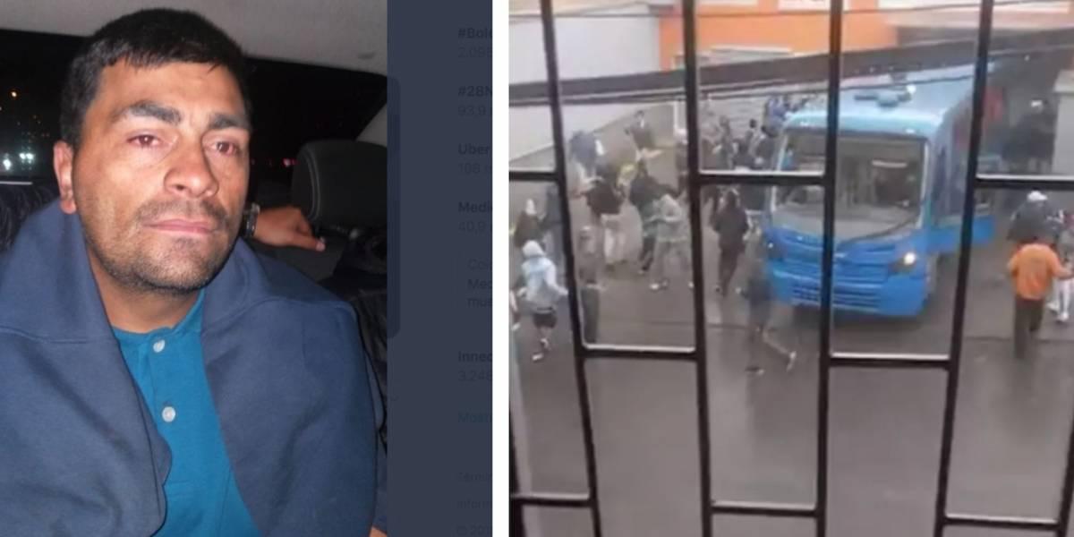 Hombre que robó bus del Sitp y lo estrelló contra ARA fue enviado a la cárcel