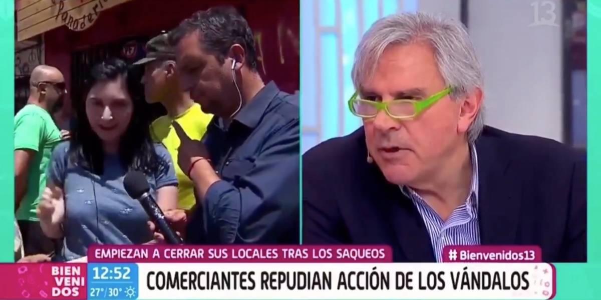 """""""Están ahí, hablando de nosotros, de los delincuentes, ¿con qué cara?"""": profesora emplaza a Ivan Moreira y el senador se negó a responder"""