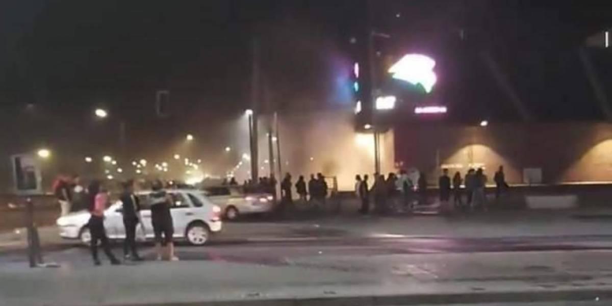 """""""Una vez más atacada, vandalizada y saqueada"""": los registros de la violenta noche en la estación intermodal de La Cisterna"""
