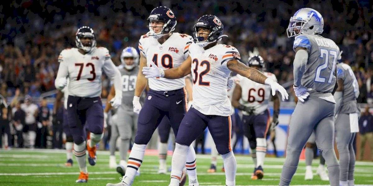 Bears vienen de atrás y vencen a Lions para mantener esperanzas de playoffs