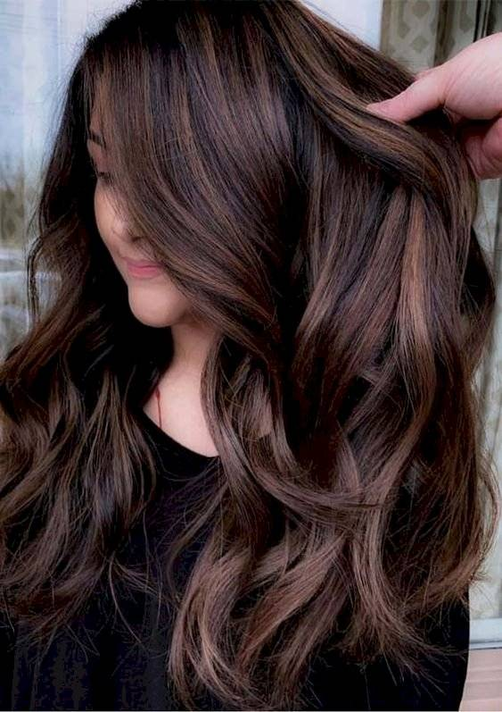 Color de cabello chocolate 2020