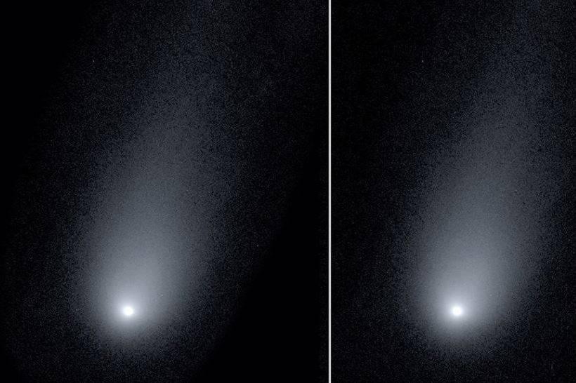Cometa descubierto el año pasado tendría extraña composición química