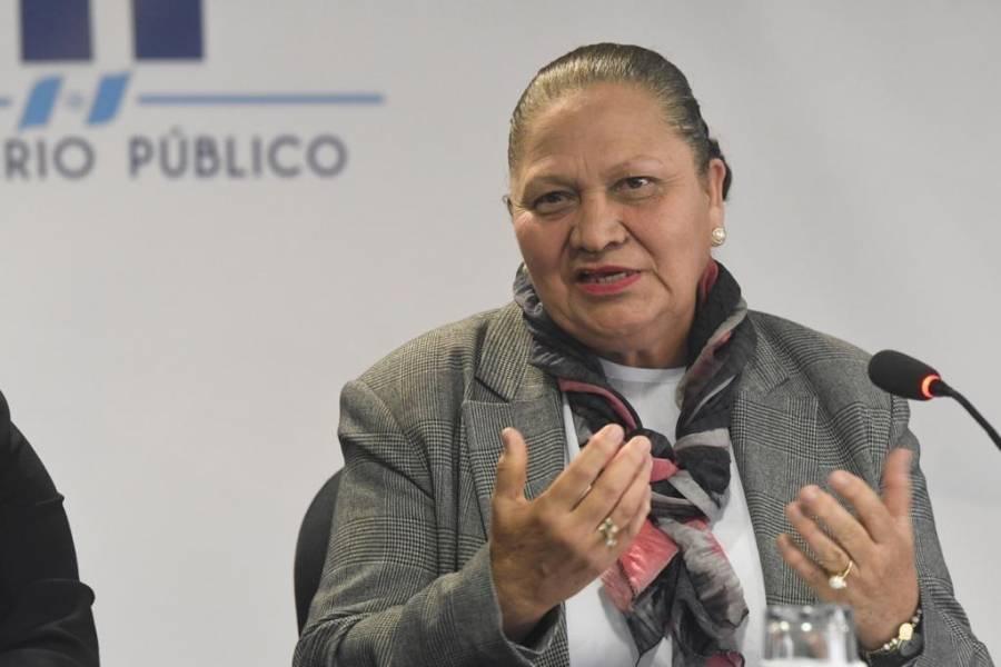 "Consuelo Porras le responde a Thelma Aldana: ""No soy verdugo de nadie"""
