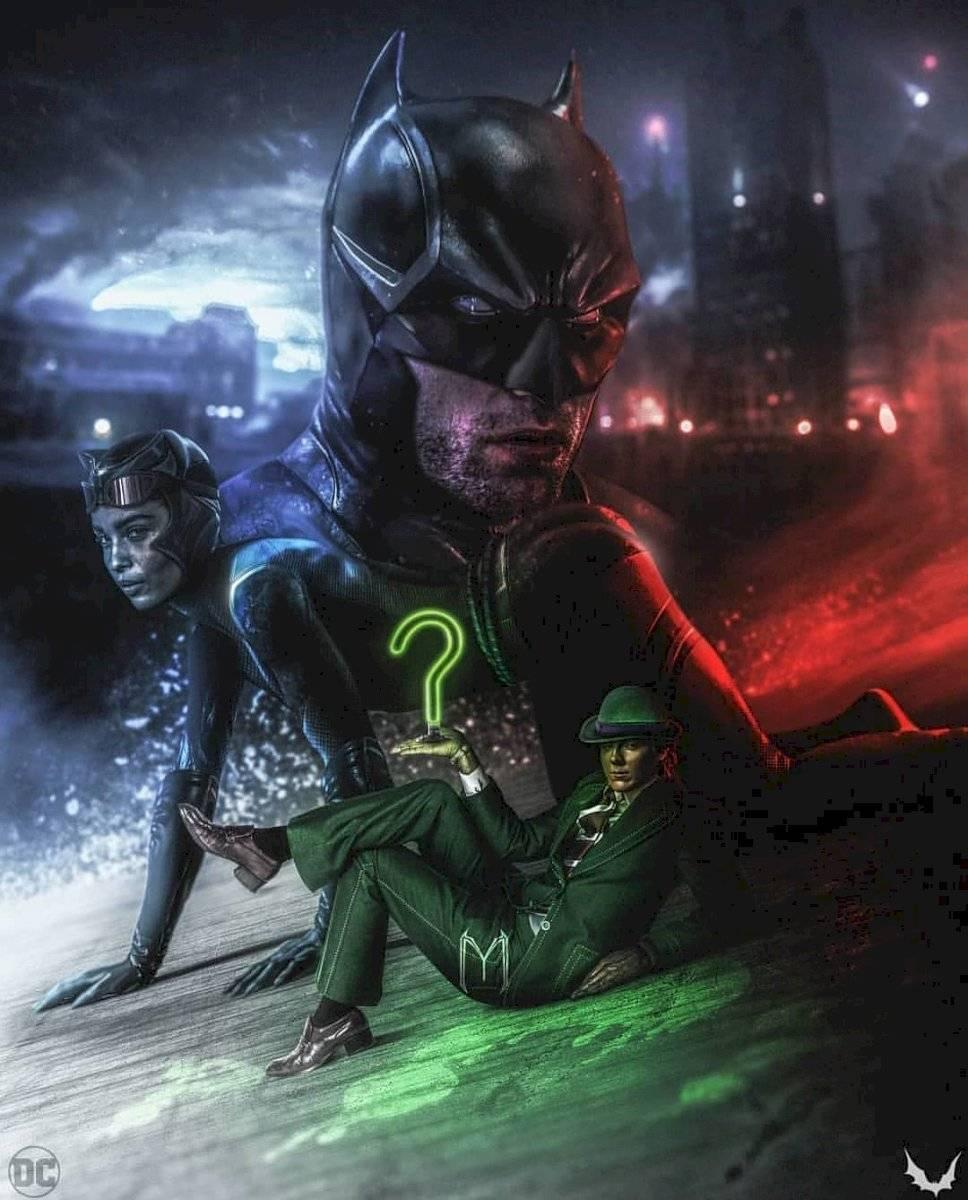 Aún no hay fotografías de cómo lucirá el nuevo Batman.