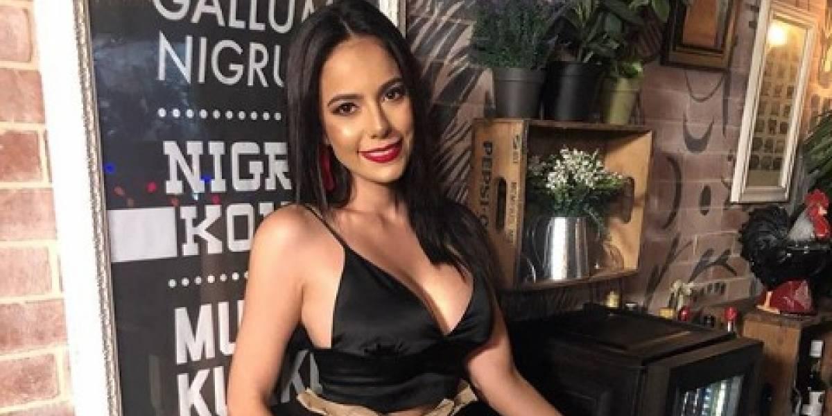 La exMiss Mundo Guatemala 2018 se deja ver desde la cama en una ardiente y sexy pijama
