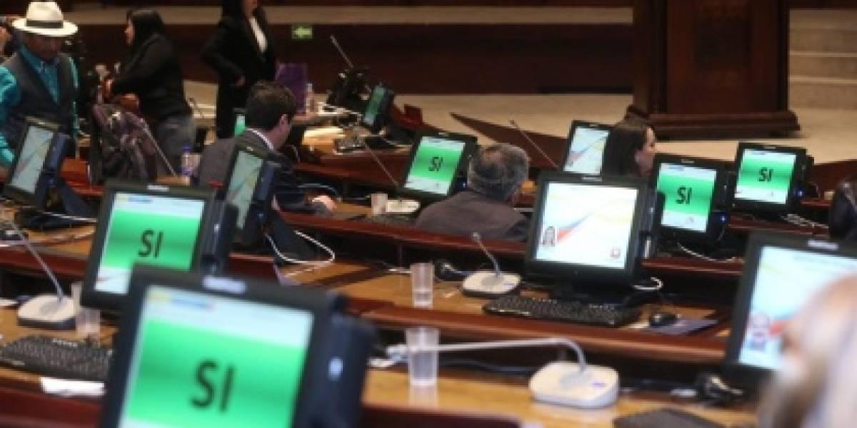 Moreno vetó a la Ley Tributaria aprobada por la Asamblea Nacional