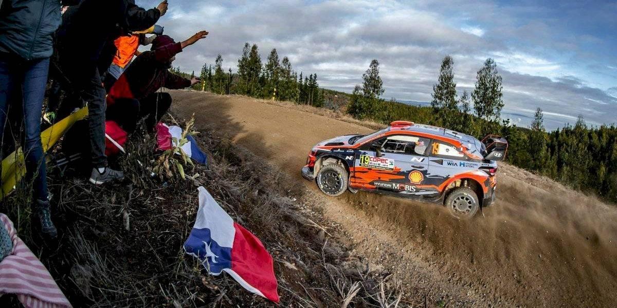 Suspenden fecha chilena del Rally Mundial 2020