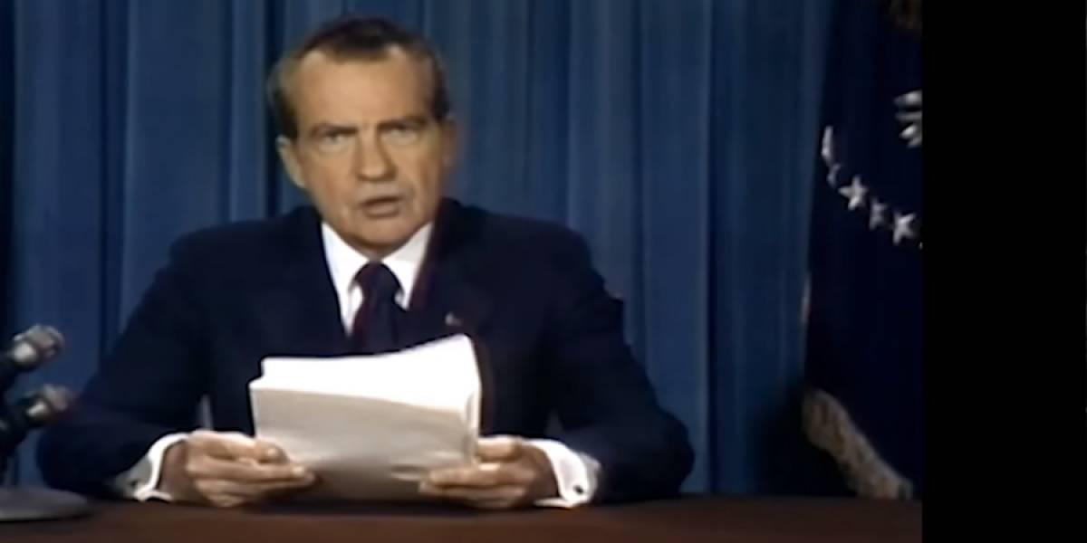 Deepfake de Richard Nixon narra la muerte de Neil Armstrong en el Apolo 11