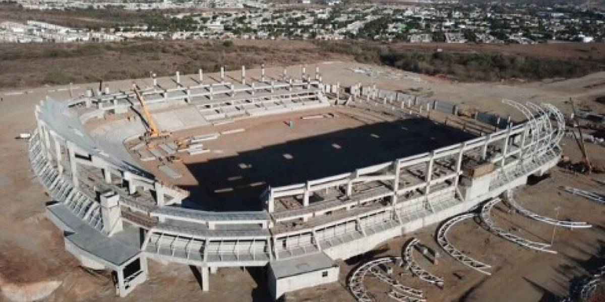 El estadio en Mazatlán que sería la nueva casa del Puebla
