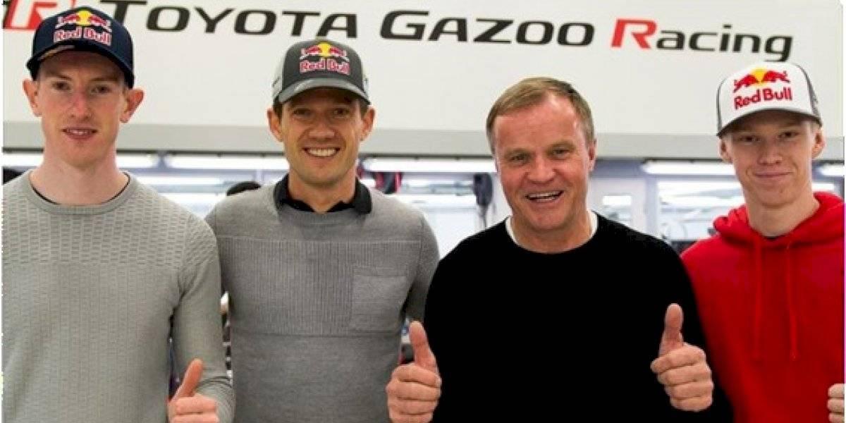 Ogier, Evans y Rovanperä, los nuevos pilotos de Toyota Gazoo Racing