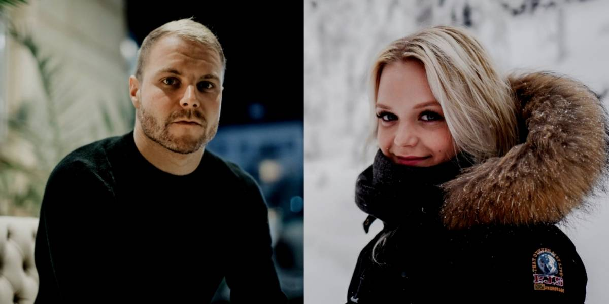 Por la F1, Valtteri Bottas decide divorciarse de Emilia Pikkarainen
