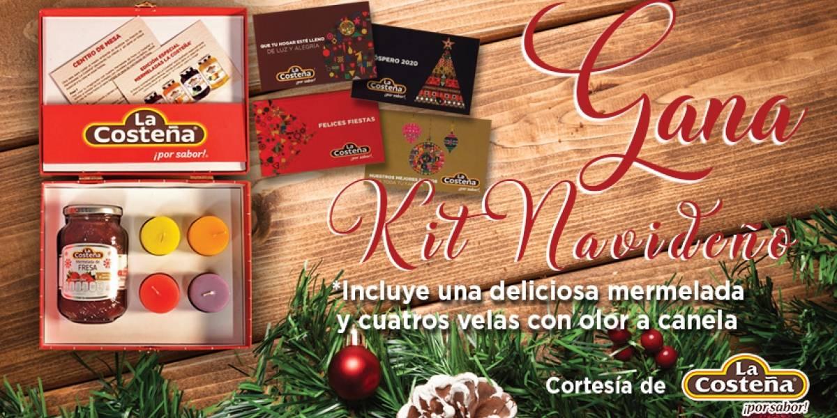 Gana kit navideño de La Costeña