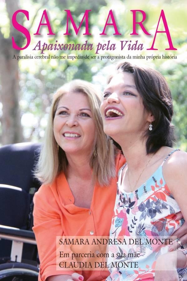 A capa do livro 'Samara: Apaixonada pela Vida'
