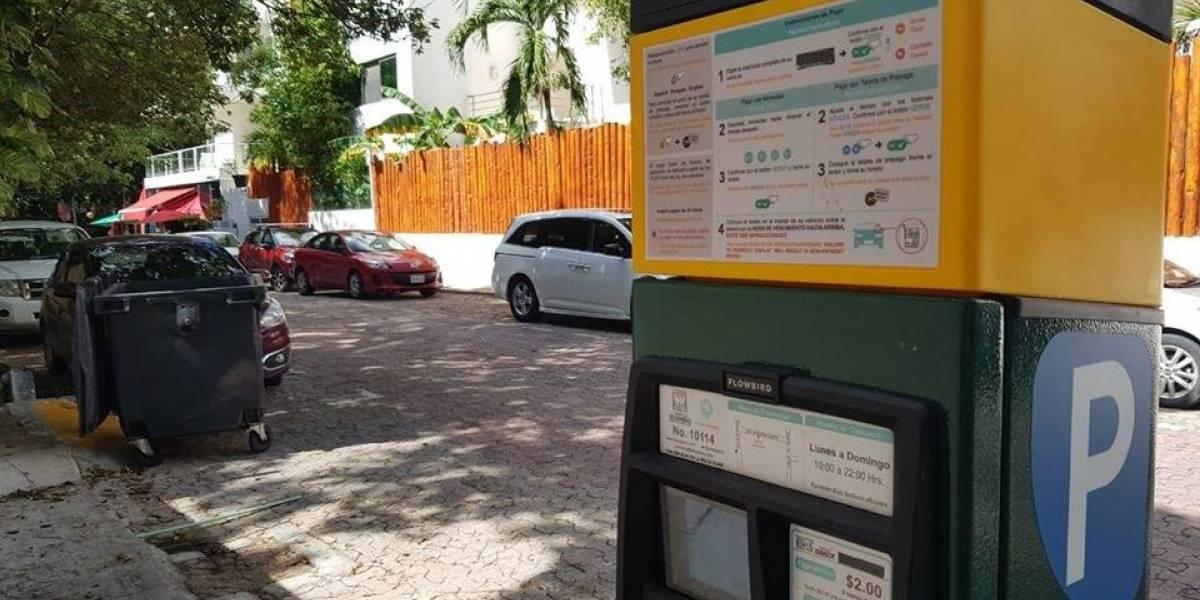 Extranjeros aprueban parquímetros en Playa del Carmen