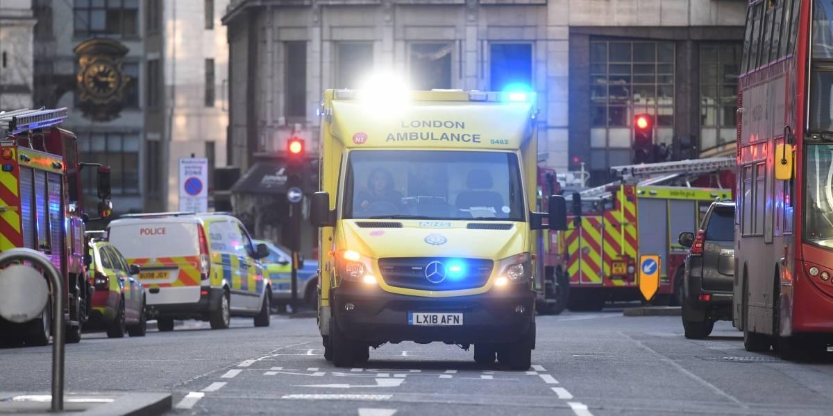 La policía trata como ataque terrorista el incidente en el puente de Londres