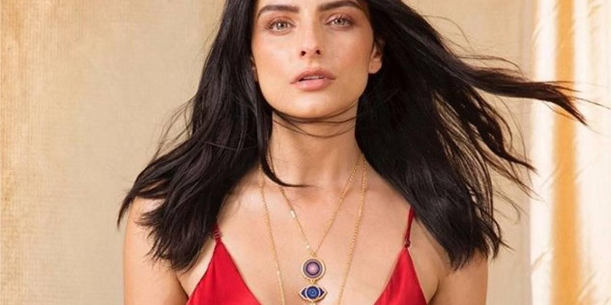 El ritual de Aislinn Derbez para presentar su nueva colección de joyería