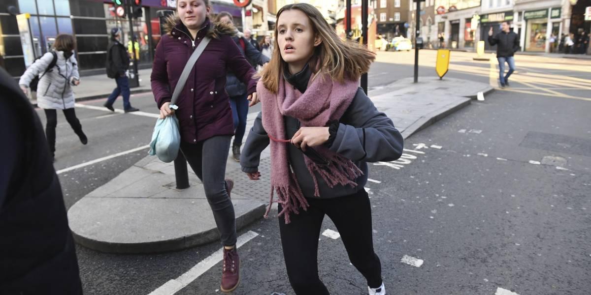 Dos muertos y varios heridos tras atentado terrorista en Londres