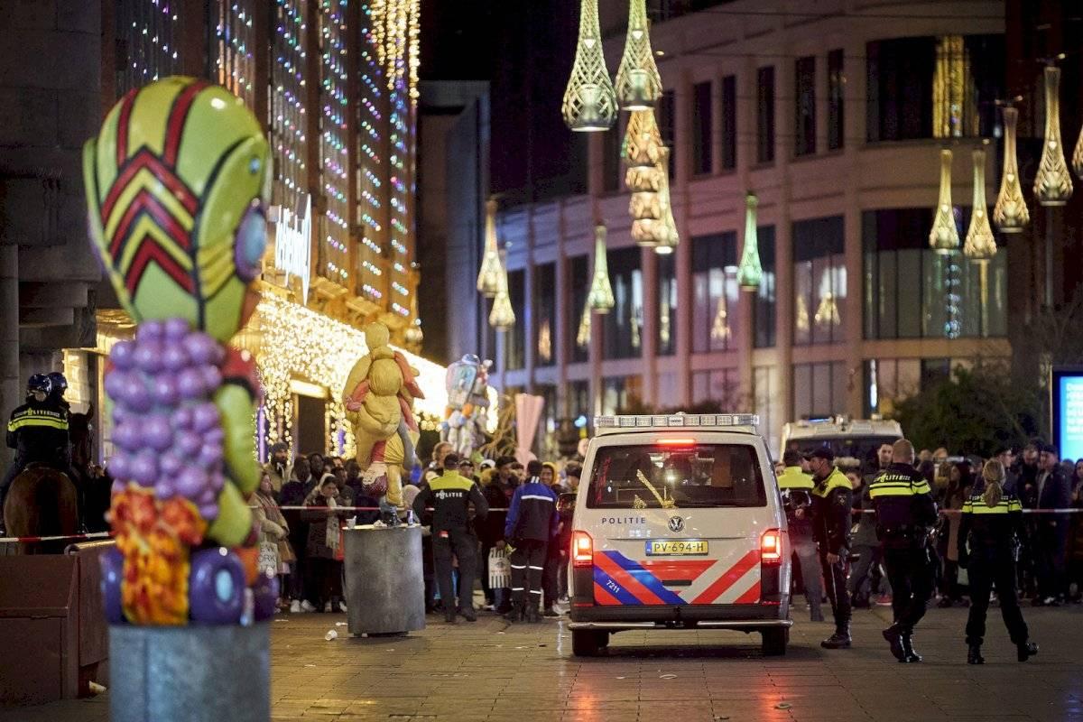 Los hechos ocurrieron en una de las principales zonas comerciales de La Haya