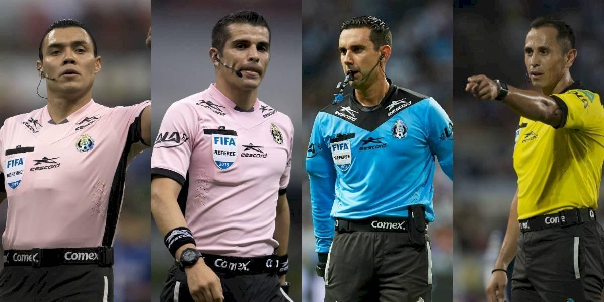 Listos los árbitros para la vuelta de los cuartos de final de la Liga MX
