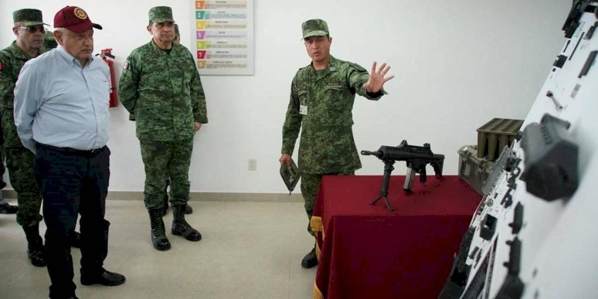 Sedena proyecta construir más de 30 mil armas anuales con nueva fábrica