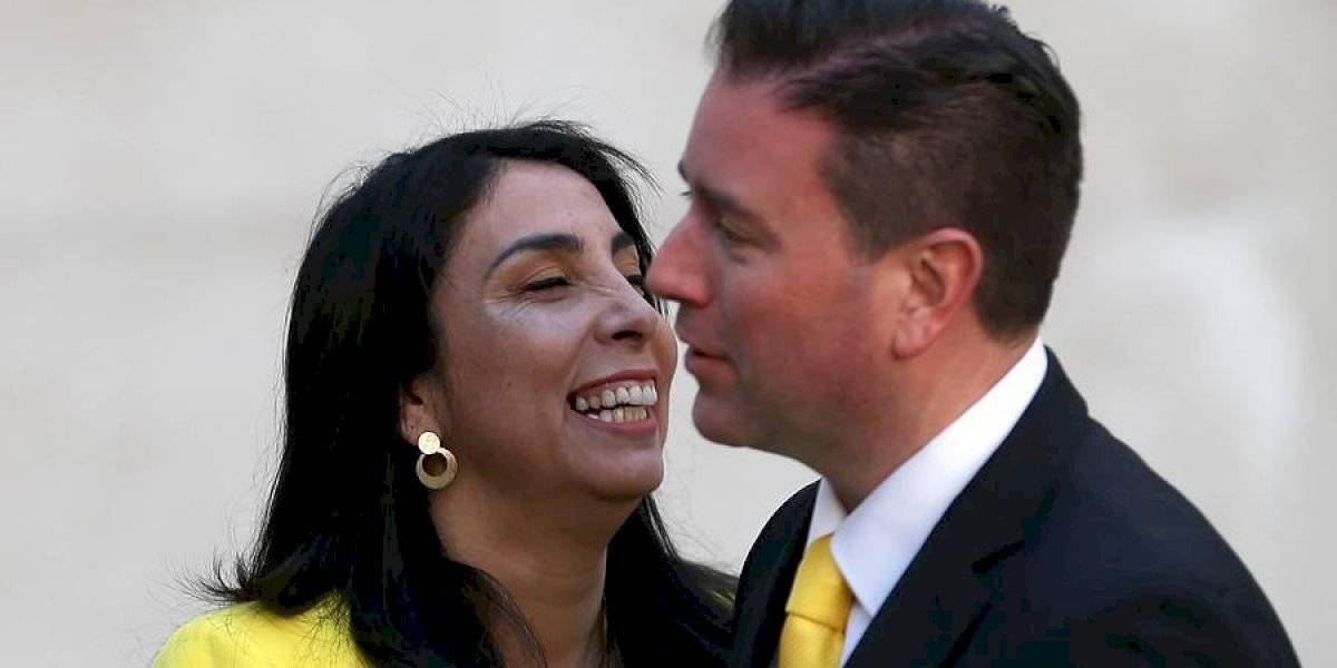 Karla Rubilar justificó contrato de su pareja con el gobierno por $1 al mes
