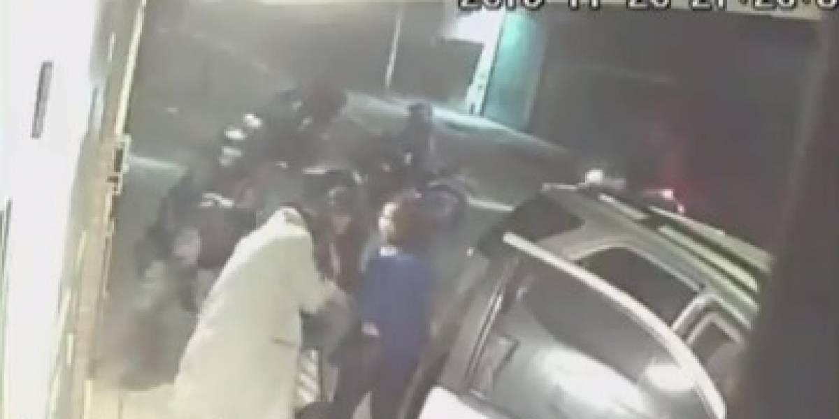 Familia fue robada y agredida por diez delincuentes que se movilizaban en motocicleta