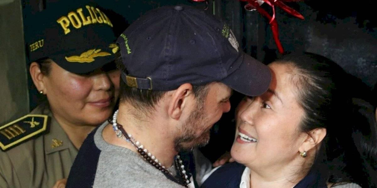 "Keiko Fujimori en libertad: ""ha sido el momento  más doloroso de mi vida"""
