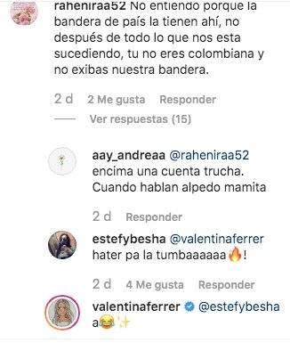 Novia de J Balvin fue duramente criticada por usar la bandera de Colombia en un video