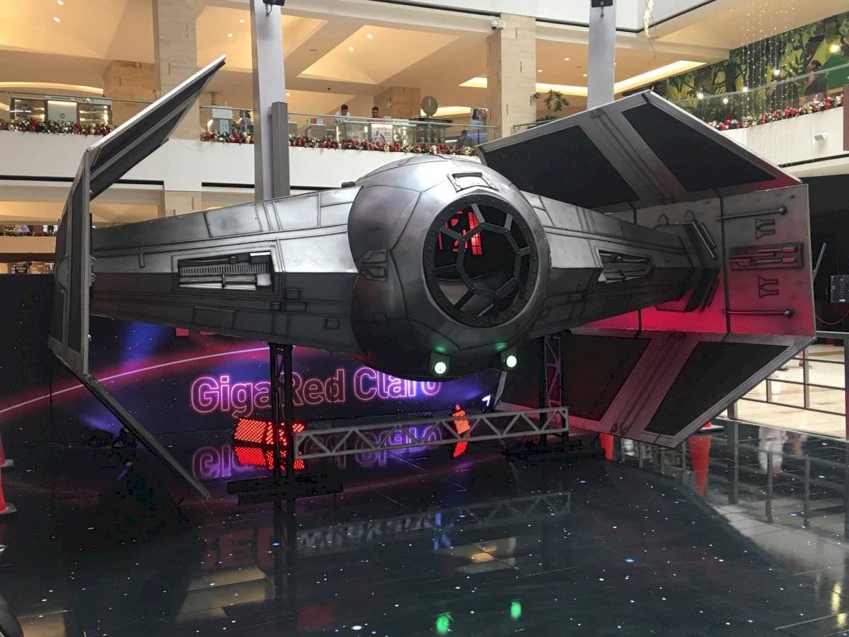 El Caza TIE de Darth Vader en el Red Weekend. Foto: Jerson Ramos
