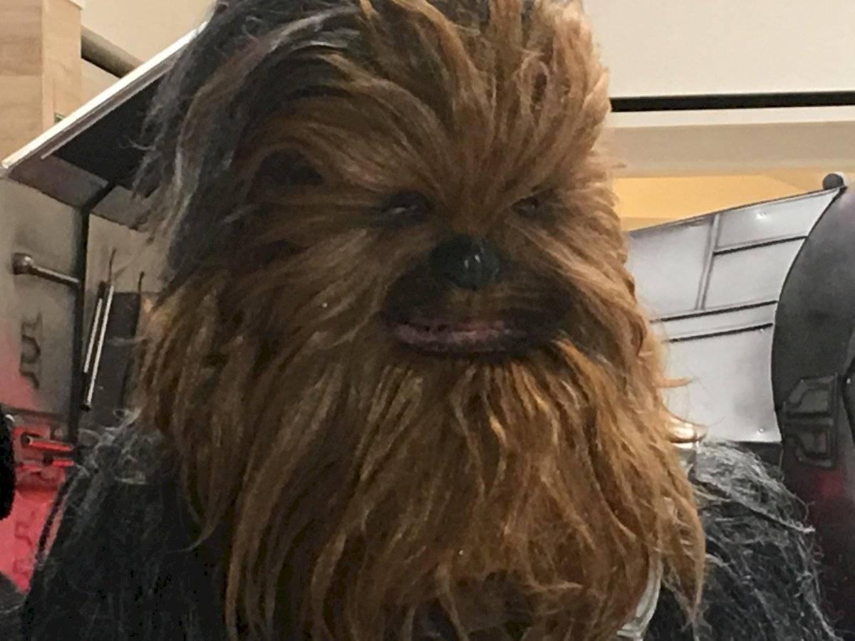 Chewbacca en el Red Weekend. Foto: Jerson Ramos