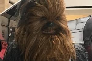 Chewbacca en el Red Weekend.