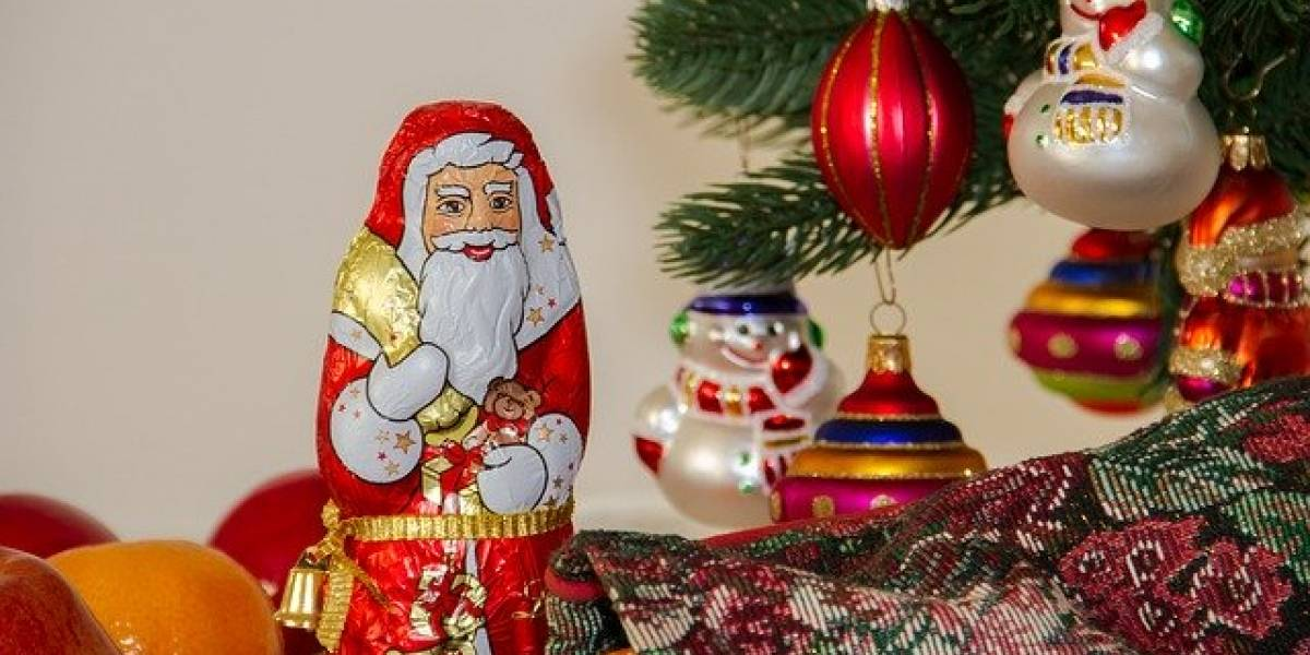 Mira la sorpresa sexual que encontró al abrir un Santa Claus de chocolate