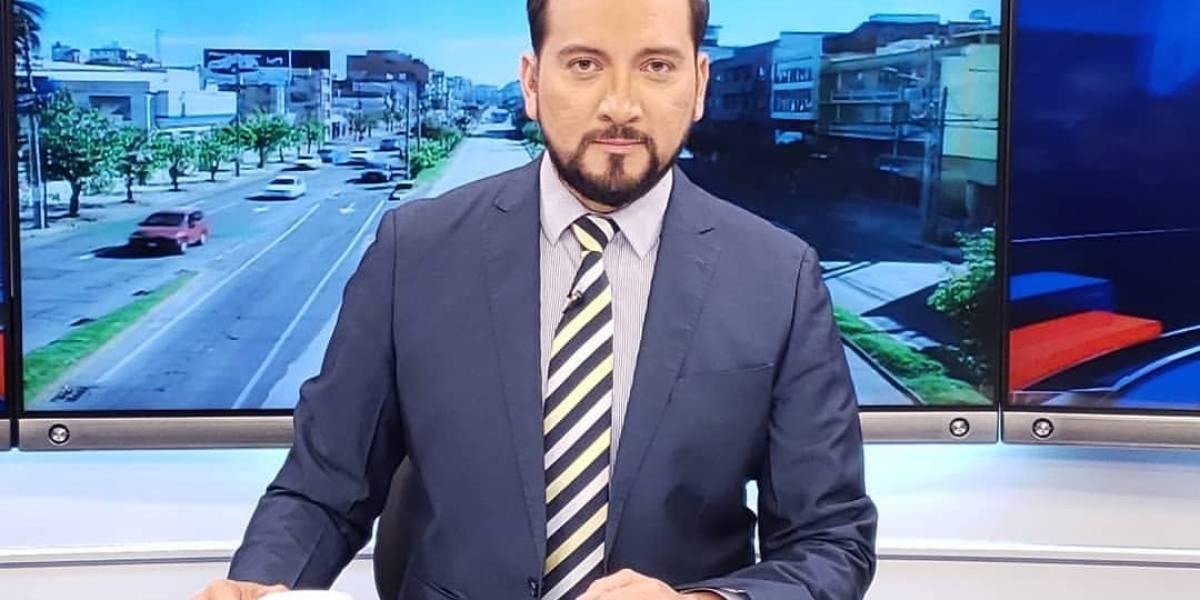 Jorge Loaiza se despide de Teleamazonas y sus compañeros le envían emotivos mensajes