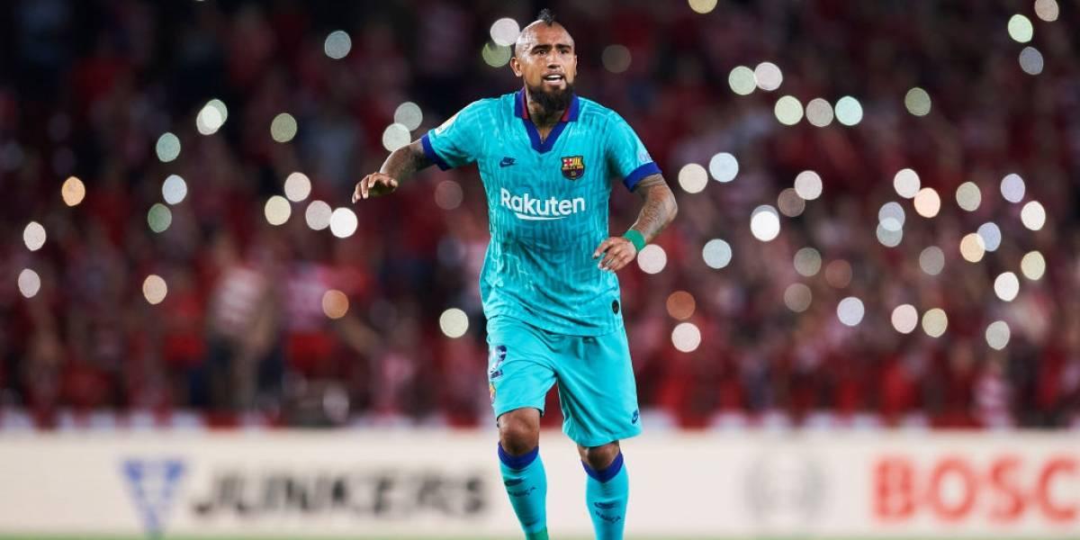 """Vidal pone en duda su continuidad en Barcelona: """"Si en diciembre siento que no soy importante, buscaré una solución"""""""