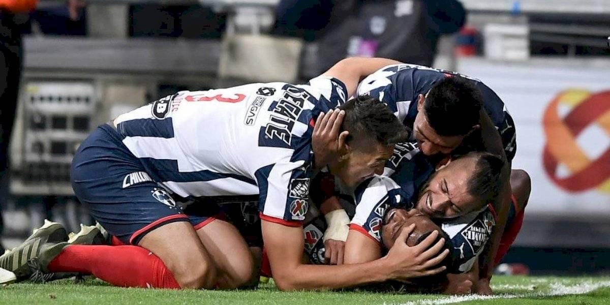 Monterrey goleó a Santos Laguna de Diego Valdés y tiene un pie en las semifinales de la Liga MX