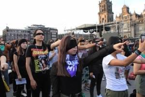 Mujeres en manifestación