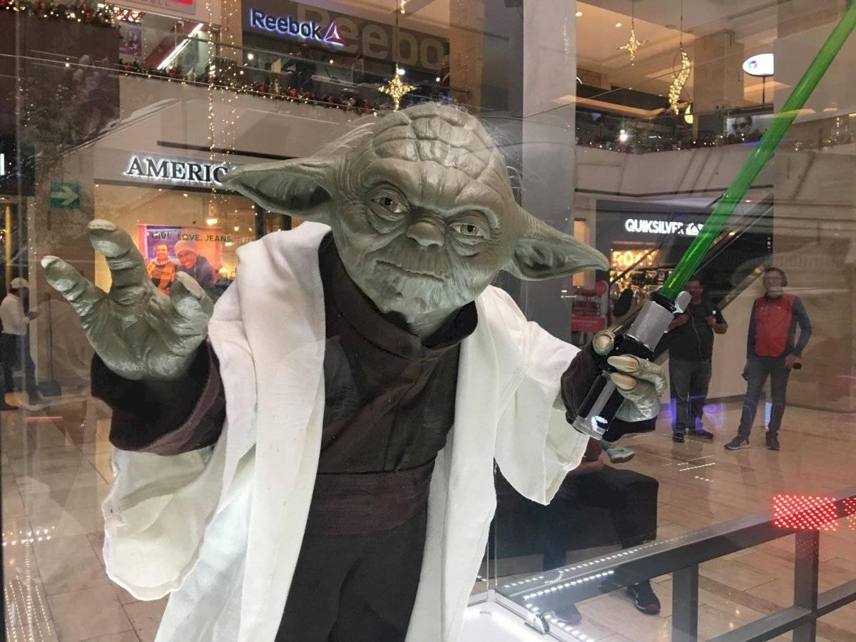 Maestro Yoda en el Red Weekend. Foto: Jerson Ramos