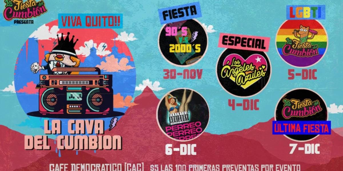 Fiestas de Quito: ¡Se viene la Cava del Cumbión en la capital!