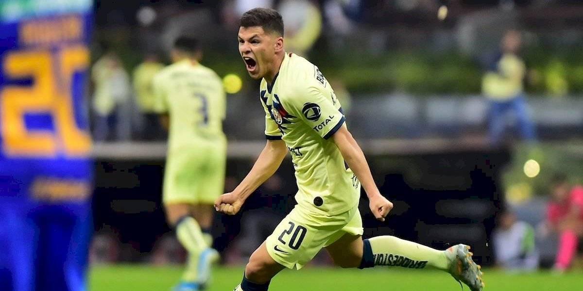 VIDEO: Así fue el gol de Richard Sánchez con el que América tomó ventaja ante Tigres