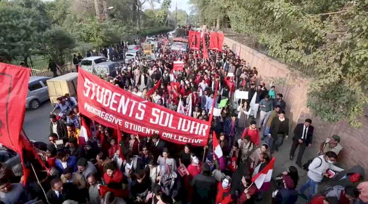 Protesta en Pakistán