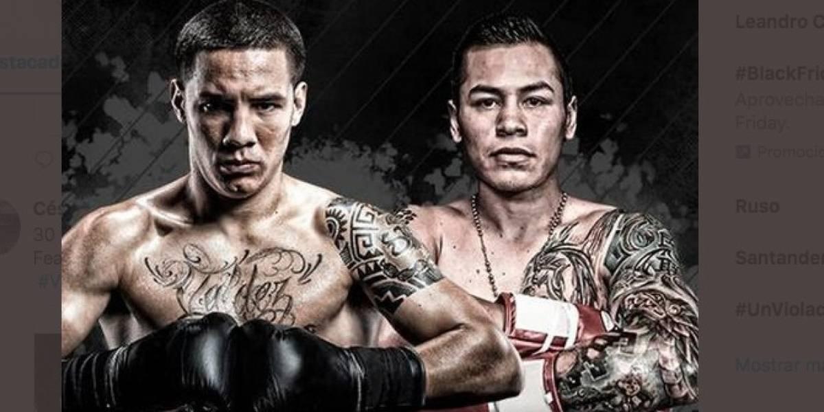 Boxeador mexicano se pasa 11 libras y queda fuera de su pelea; era la estelar