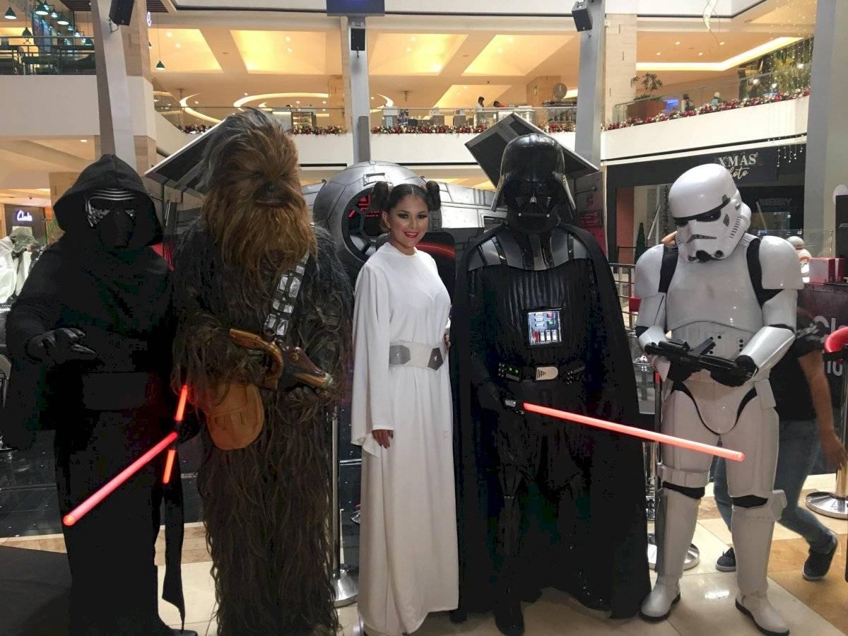 Personajes de Star Wars en el Red Weekend. Foto: Jerson Ramos