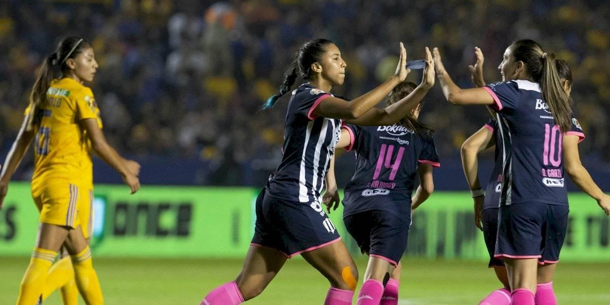 Rayadas rescata el empate contra Tigres y dejan todo para la vuelta