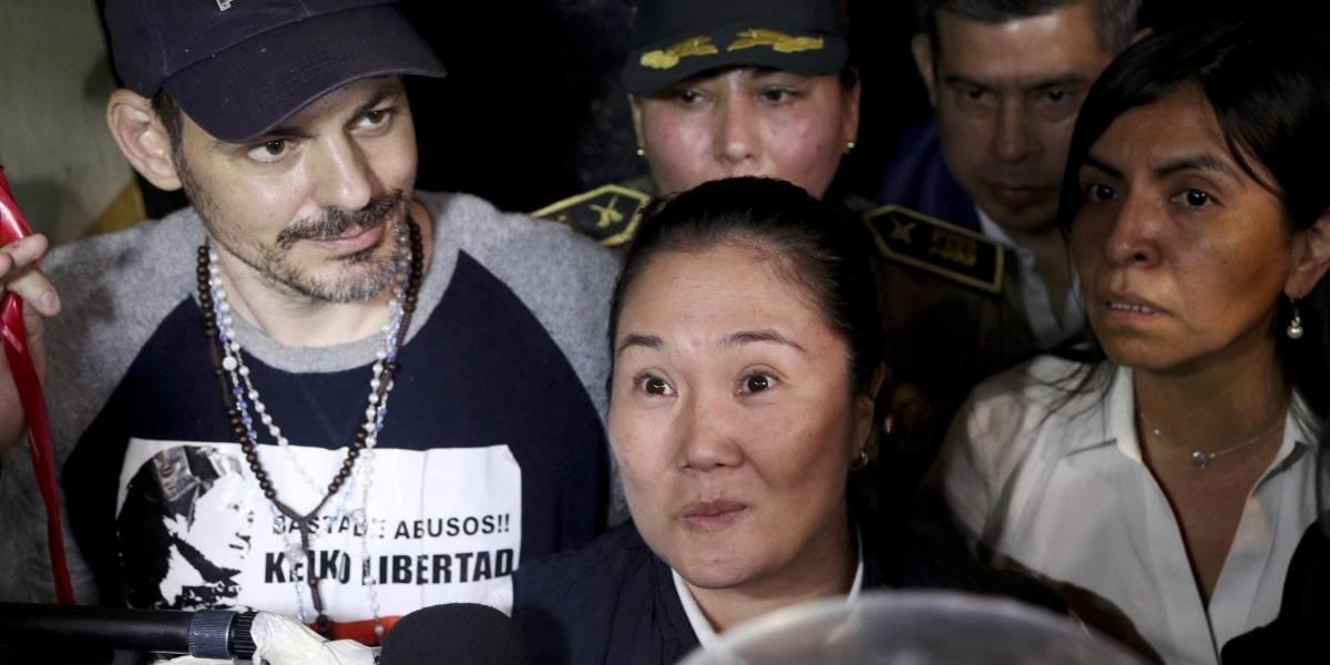 Hija de Alberto Fujimori sale de prisión en Perú