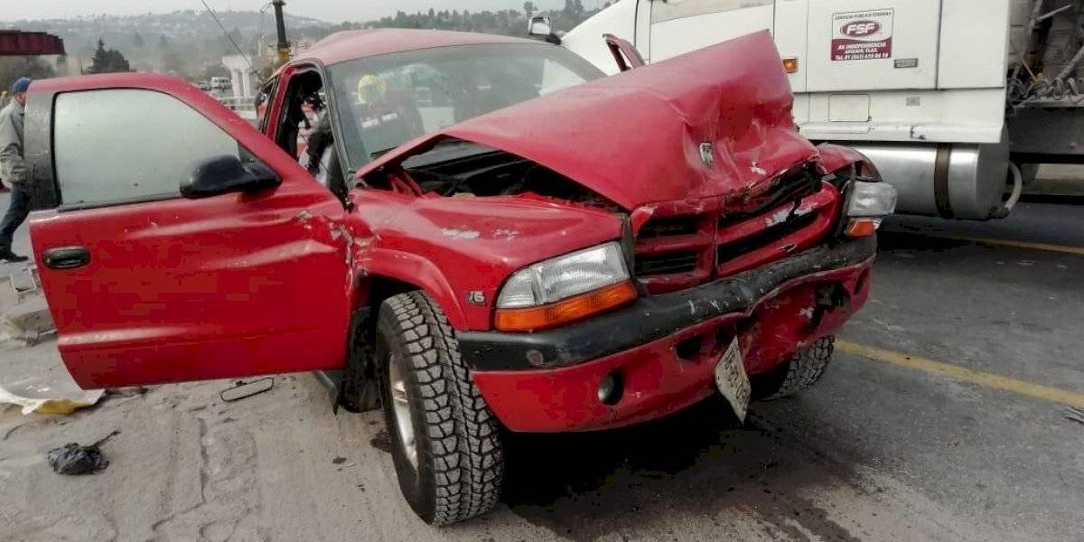 Accidente en carretera Tlaxcala-Apizaco deja 6 personas muertas