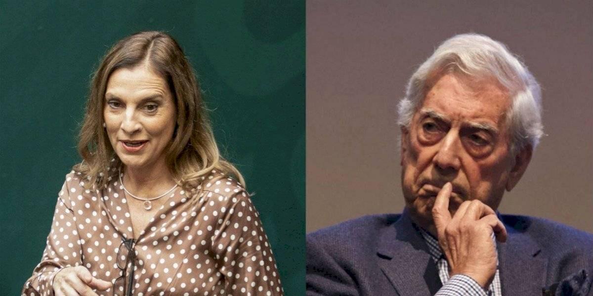 """Podemos regresar al """"panfletario perfecto"""", responde Beatriz Gutiérrez a Vargas Llosa"""
