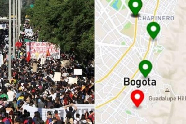 Crean aplicación que permite saber dónde hay manifestaciones