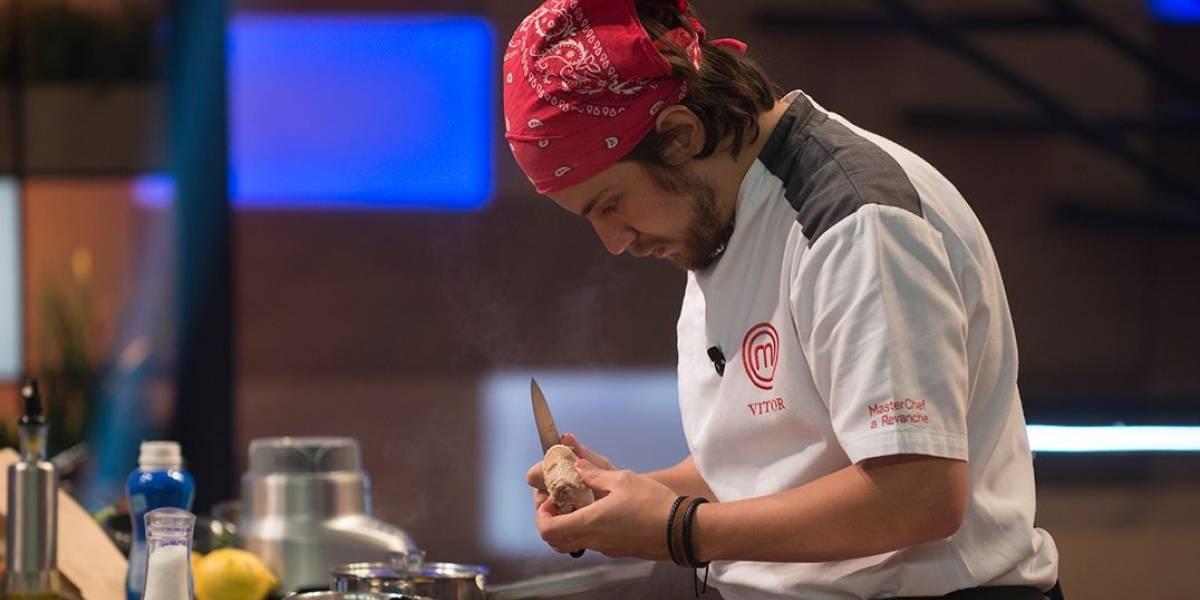 MasterChef Brasil - A Revanche: 'Estar entre os quatro melhores é gratificante', diz Vitor